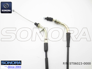 BAOTIAN SPARE PART BT49QT-9D3 (2B)Throttle Cable Assembly (P/N:ST06023-0000) Top Quality
