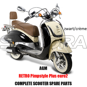 AGM RETRO PIMSTYLE PLUS SCOOTER BODY KIT ENGINE PARTS COMPLETE SCOOTER SPARE PARTS ORIGINAL SPARE PARTS