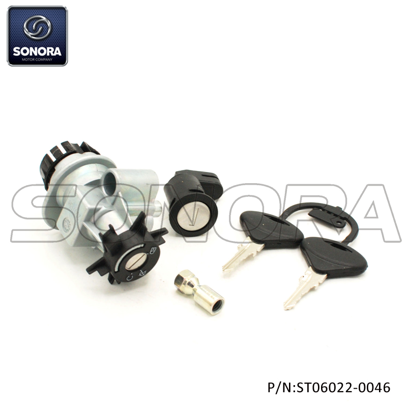 Lock set Peugeot PGT Speedfight, Vivacity(P/N:ST06022-0046) top quality