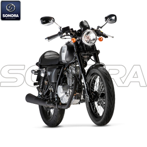 MASH CAFE RACER 125 cc black Euro 4 Body Kit Engine Parts Original Spare Parts