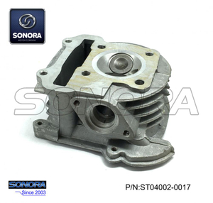 GY6-80 139QMA/B Cylinder head with valve 50MM with EGR (P/N:ST04002-0017) Top Quality
