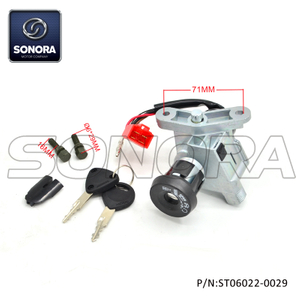 Lock Set Yamaha Neo's 2002-2008 (P/N:ST06022-0029) Top Quality