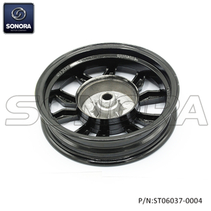 ZN50QT-30A Rear wheel rim New model-Glossy black (P/N:ST06007-0004) TOP QUALITY