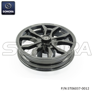 ZN50QT-30A Front wheel new model Glossy black(P/N:ST06037-0012) Top Quality