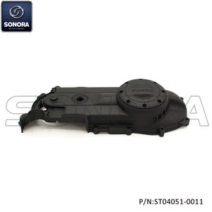 Piaggio Zip Left Crankcase engine Cover-Matt black (P/N:ST04051-0011)top Quality