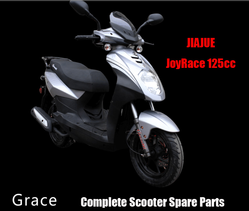 Jiajue GRACE125 Scooter Parts Complete Scooter Parts