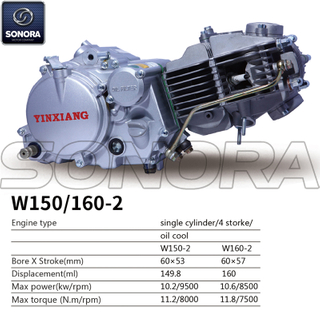 Yinxiang Engine W150-2 BODY KIT ENGINE PARTS COMPLETE SPARE PARTS ORIGINAL SPARE PARTS