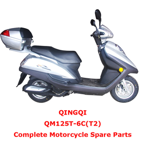 QINGQI QM125T-6C T2 Complete Motorcycle Spare Parts