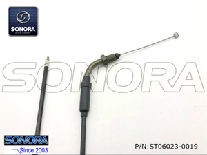Qingqi Scooter QM125-2C Throttle cable assy(P/N:ST06023-0019) top quality