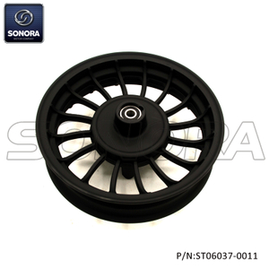 ZNEN SPARE PART ZN50QT-30A Front wheel-Matt black(P/N:ST06037-00011) Top Quality