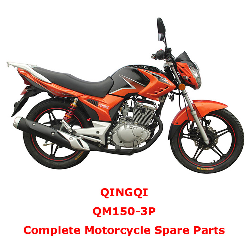QINGQI QM150-3P Complete Motorcycle Spare Parts