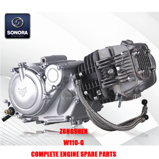 Zongshen W110-G Complete Engine Spare Parts Original Parts