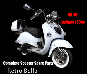 Jiajue Retro Bella125 Scooter Parts