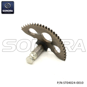Kickstart shaft gear Piaggio ZIP(P/N:ST04024-0010) Top Quality