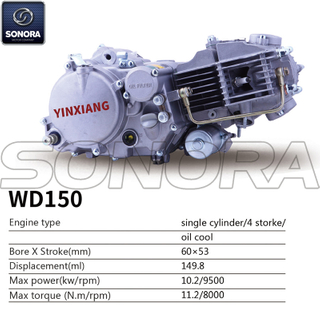 Yinxiang Engine WD150 BODY KIT ENGINE PARTS COMPLETE SPARE PARTS ORIGINAL SPARE PARTS