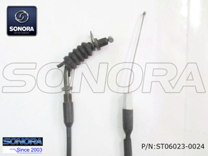 Longjia Scooter JL50QT-K Throttle cable assy.