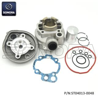 Minarelli AM6 50CC 40MM Aluminium Cylinder Kit with head (P/N:ST04013-0048) Top Quality